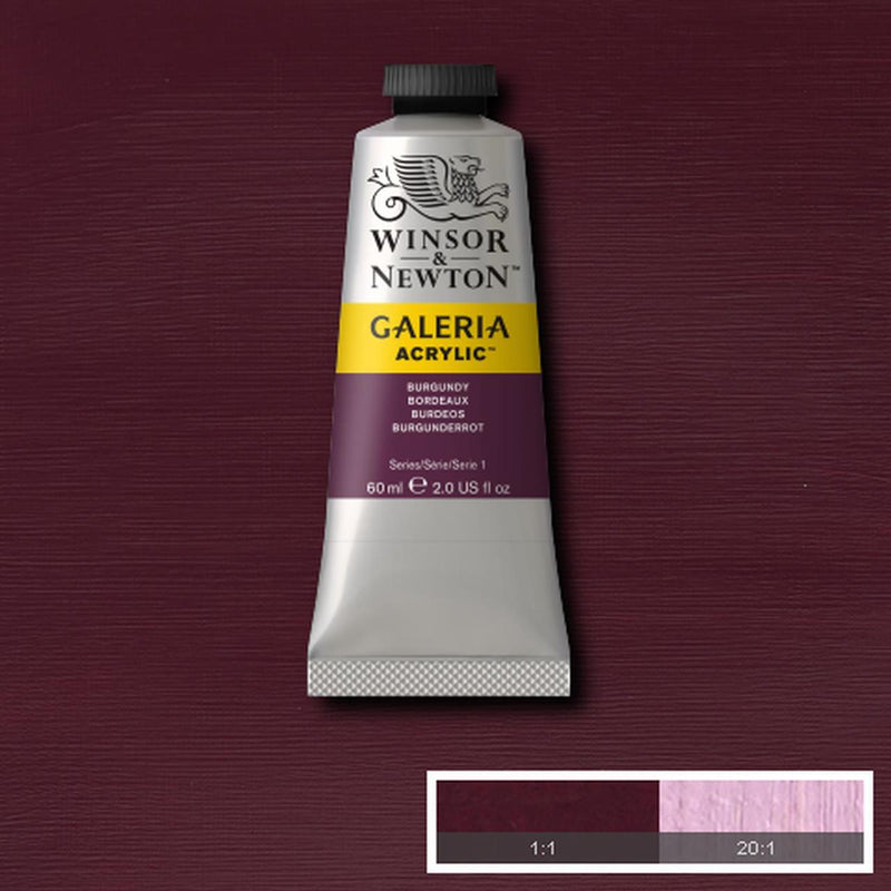 Winsor & Newton Acrylic Colors (60 ml) - Purple Range
