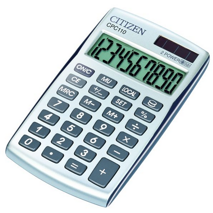 Citizen Desk Calculator / CPC-110