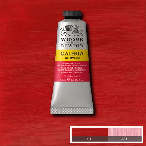 Winsor & Newton Acrylic Colors (60 ml) - Red Range