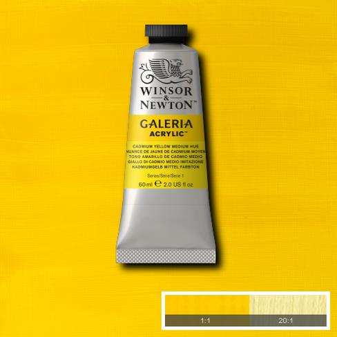 Winsor & Newton Acrylic Colors (60 ml) - Yellow Range