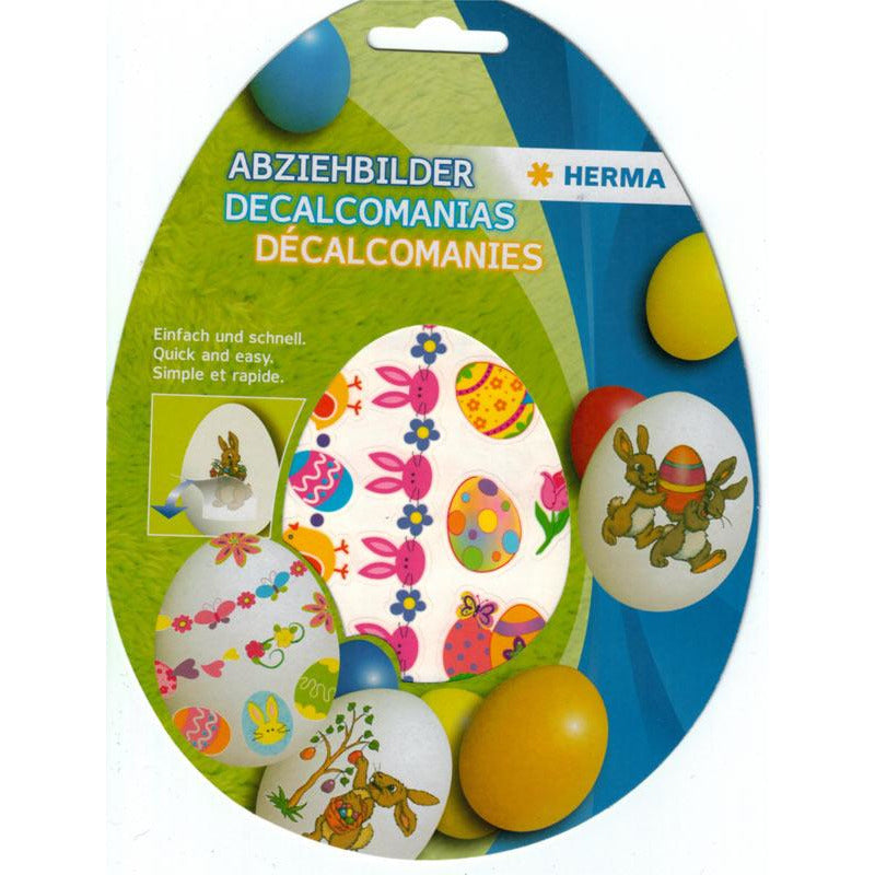 Herma Easter Egg Decoration Decal Wrappers - Pack of 2 Motifs