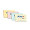 "Hopax Stick'n Notes 3"" x 5"" - Pack of 4 Colored"