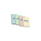 "Hopax Stick'n Notes 2"" x 3"" - Pack of 4 Colored"