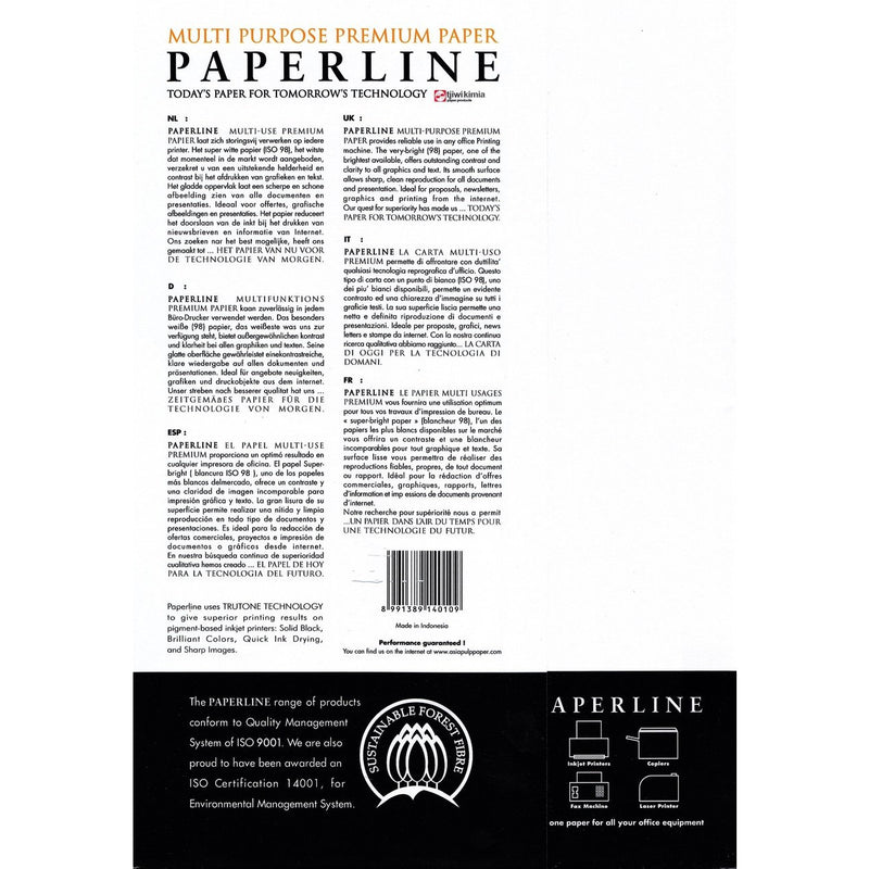 Paperline A4 Copy Paper