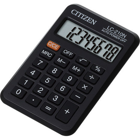 Citizen Pocket Calculator / LC-210