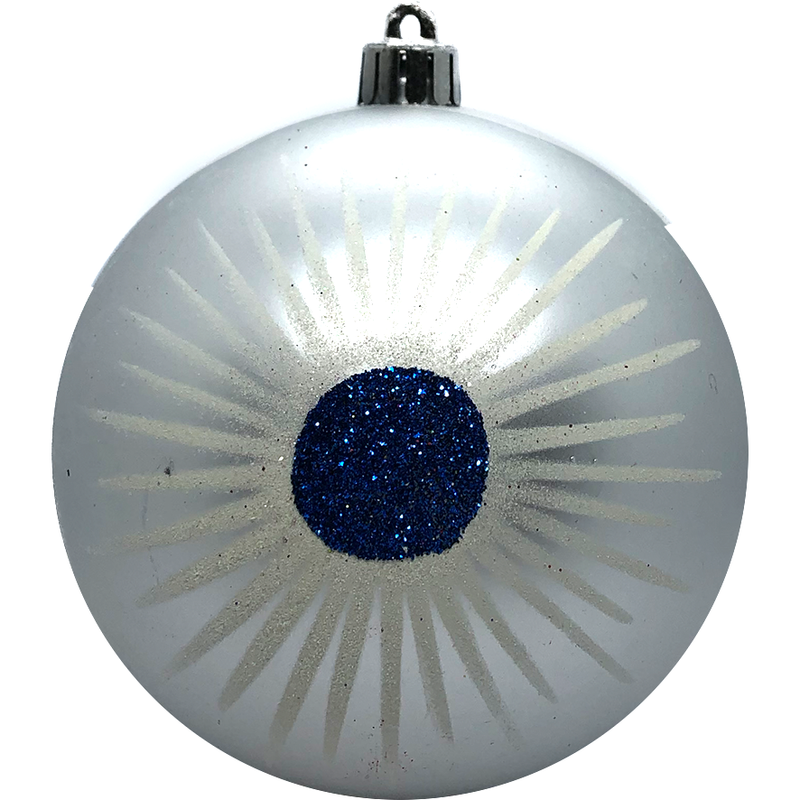Large Silver Ornament