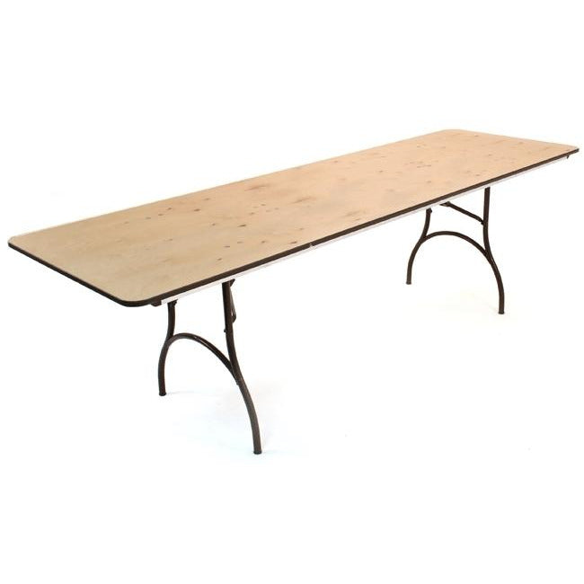 MityLite Madera Plywood Folding Table