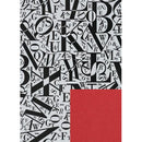 Jung Design Premium Double Sided Gift Wrap Paper 75 x 100 cm - Lettera