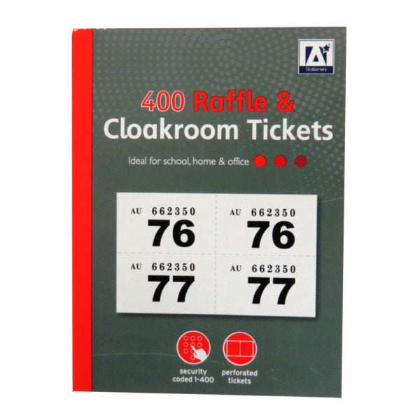 Design Group Ticket Book / 1-400