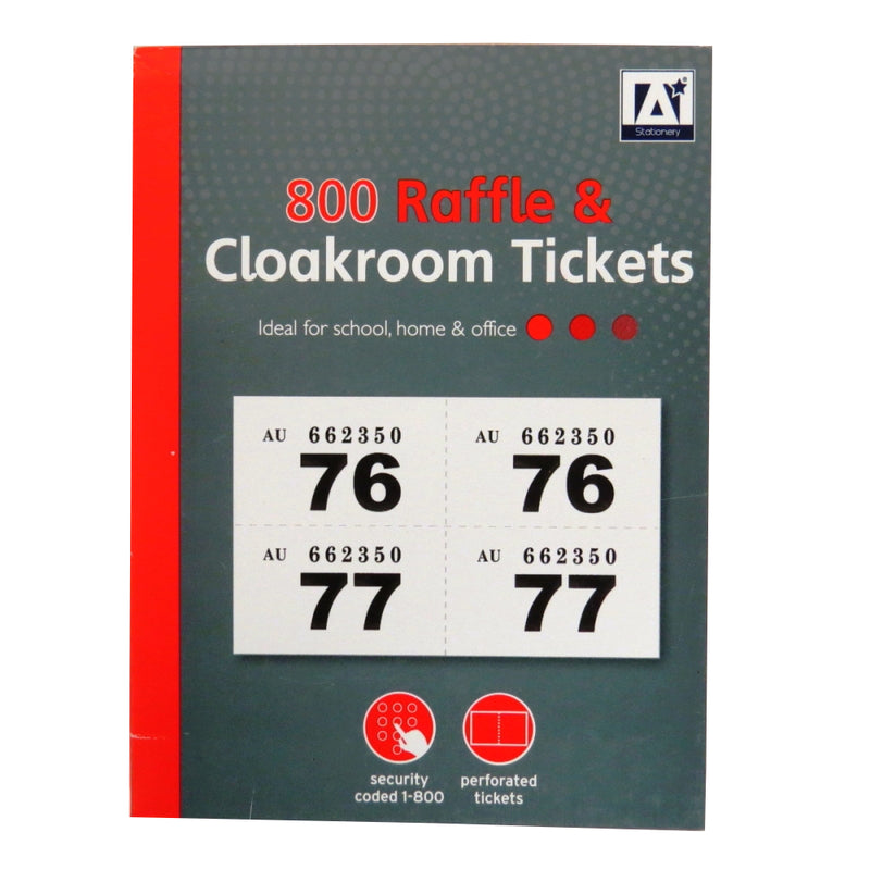 Design Group Ticket Book / 1-800