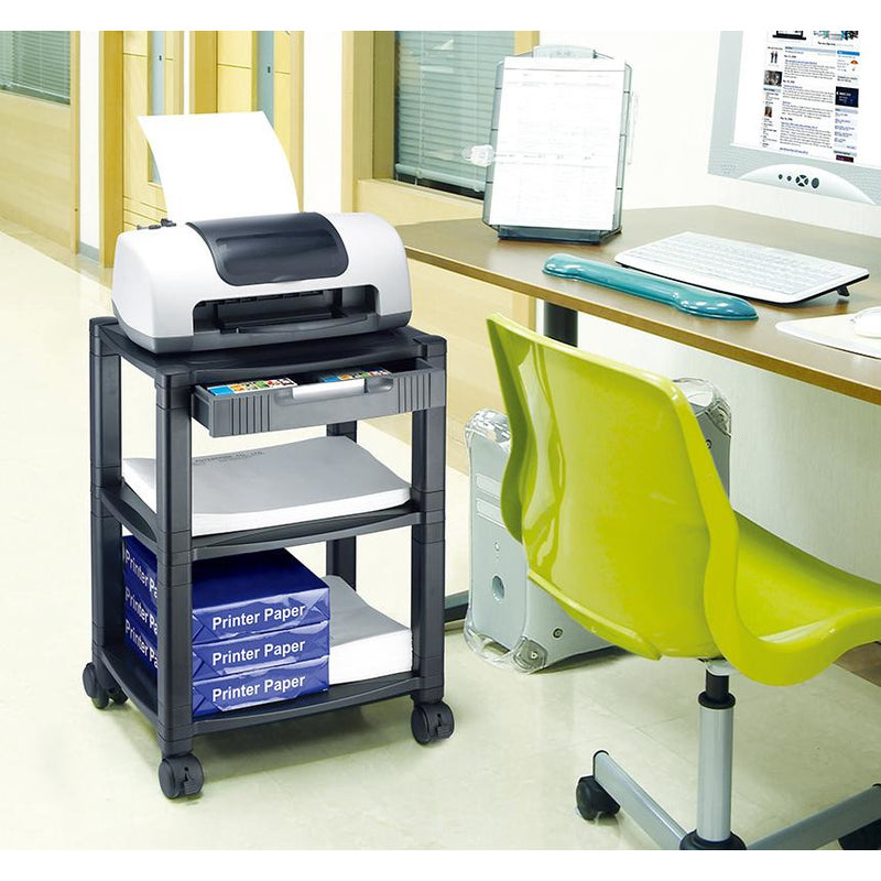 Aidata Mobile Printer Cart