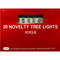 Novelty Icicle Tree Lights - 20