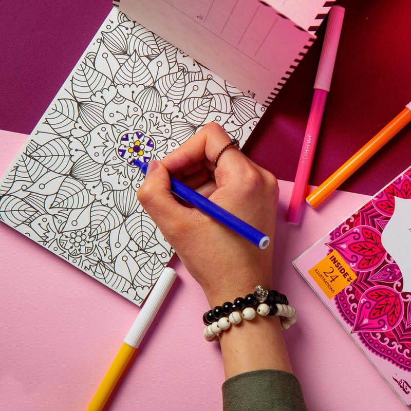 Postcard Coloring Book - A6