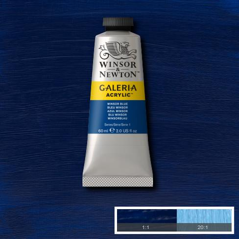 Winsor & Newton Acrylic Colors (60 ml) - Blue Range
