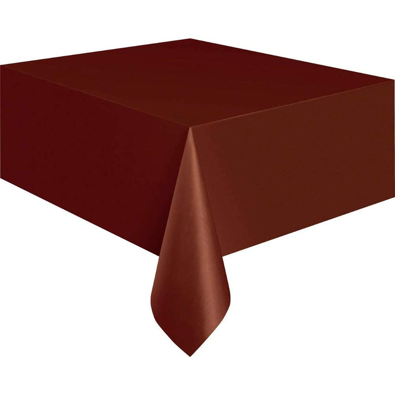 Unique Plastic Table Covers- Rectangular- 1.37 X 2.74 M