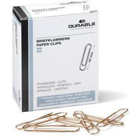 Durable Paper Clips - Pack