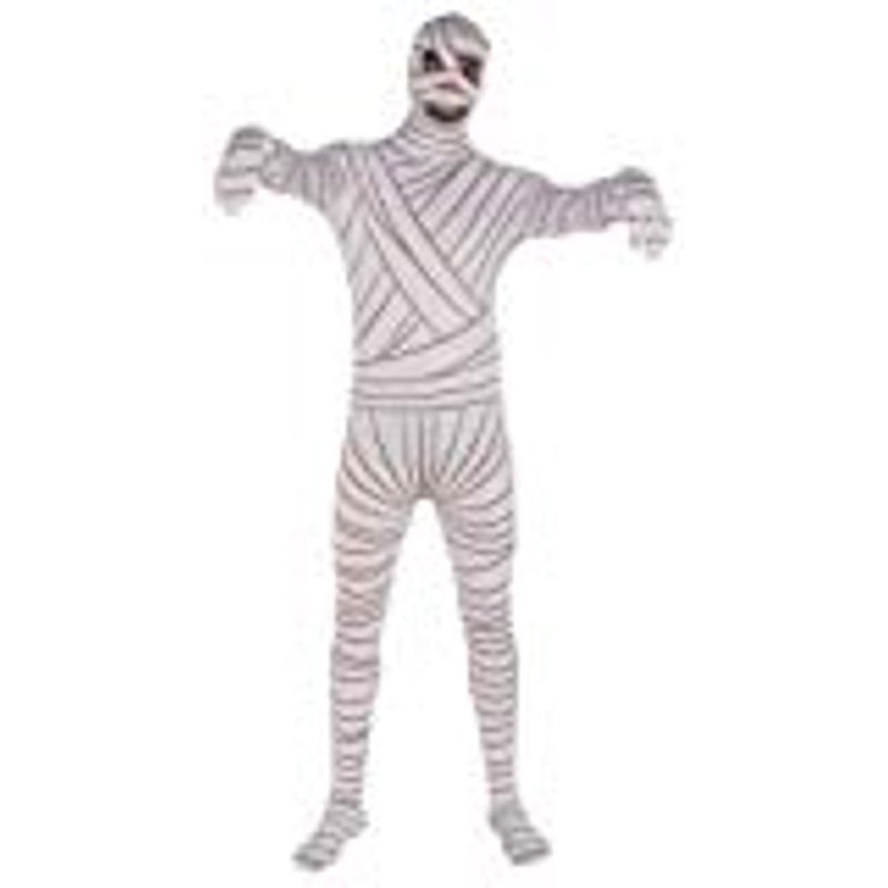 Mummy Adult Jumpsuit Costume