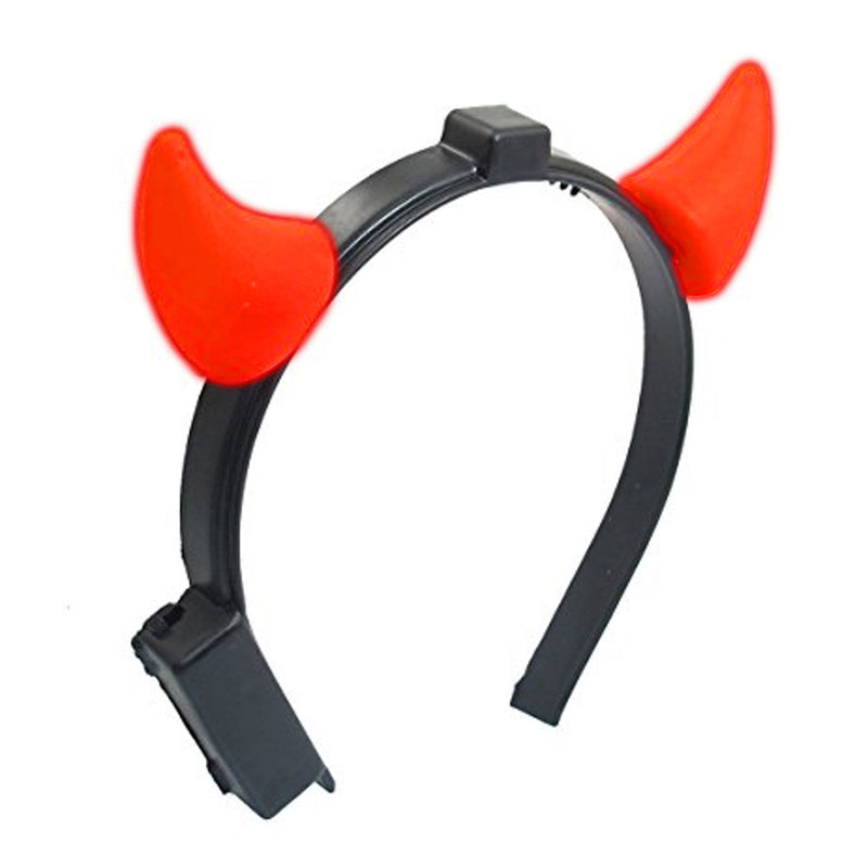 Devil Horns Light Up Headband