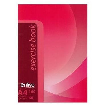 Enlivo A4 School Notebook - 80 sheets