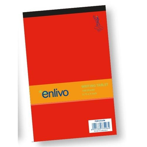 Enlivo A5 Legal Pad - 100 sheets