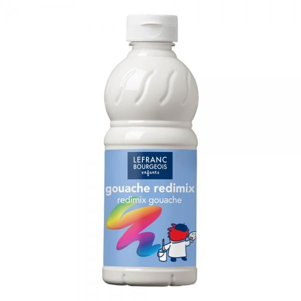 LB Tempera Paint 500ml - White