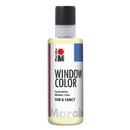 Marabu Glow in the Dark Window Color 80ml - Yellow