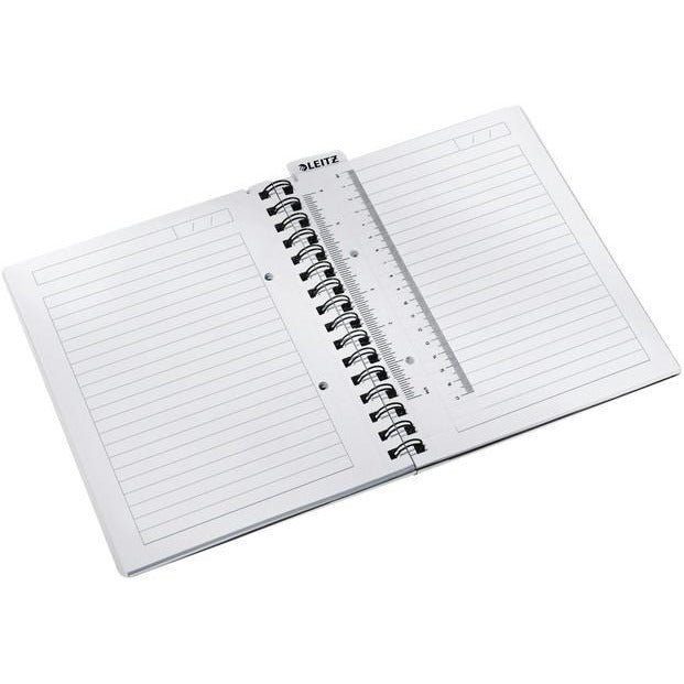 Leitz WOW A5 Spiral Notebook - Lined