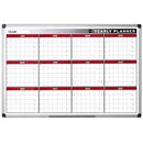 Bi-Office 12-Months Annual Planner Board (60cm x 90cm) - B8
