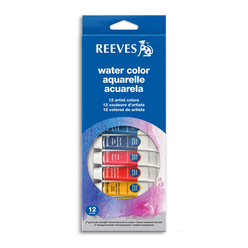 Reeves Water Colors / Set of 12 Tubes