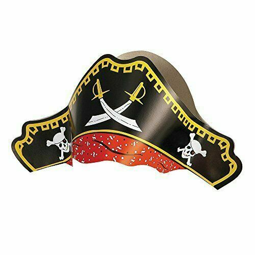 Paper Pirate Hats - 4pc