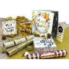 Sequin Gift Ribbon Rolls 2 m x 3 Rolls - Pack of 3