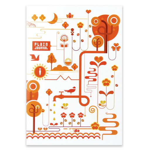Natura Fiesta A5 Notebook - 40 Sheets - PLAIN
