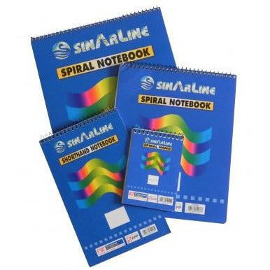 SinarLine Spiral Legal Pads - Ruled