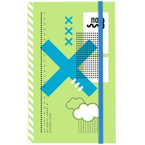 Notabook A5 Notebook - 72 Sheets - Ruled
