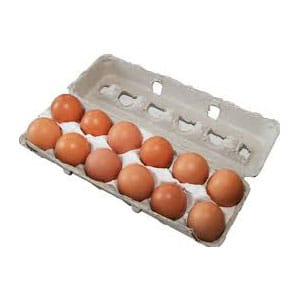 700g Caged Eggs