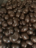 Dark Chocolate Covered Cashews (1/2 lb.)