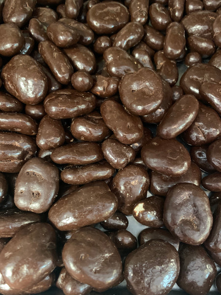 Dark Chocolate Covered Pecans (1/2 lb.)