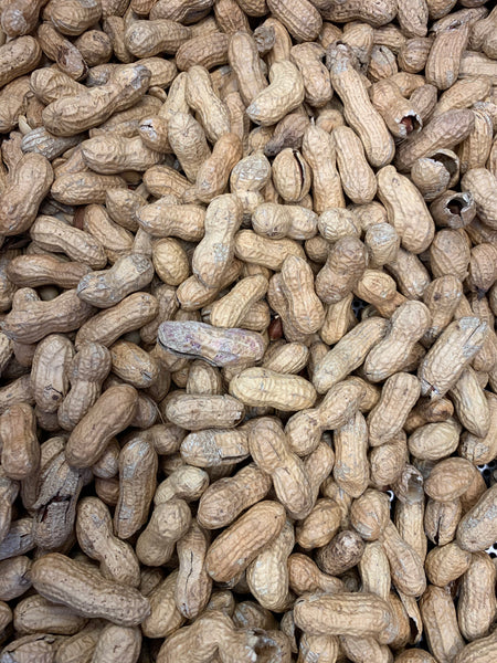 Unsalted Dark Peanuts In The Shell (1 lb.)