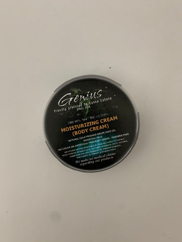 Genius CBD Moisturizing Cream