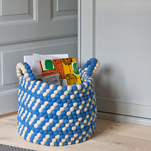 HAY - Bead Basket I With Handle - HAY kurv