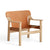 HAY - Bernard Loungechair - Oak/Brandy