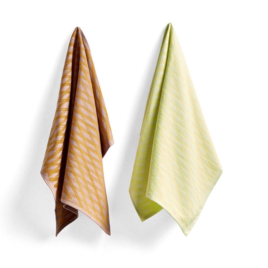 Tea Towel S&B 2 pc. - Viskestykker