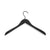 HAY - Soft Coat hanger - Wide 4 pcs. Black