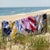Graphic Cotton Velour Beach Towel