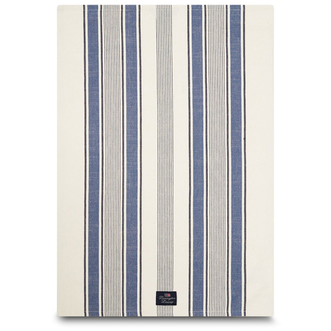 Striped Cotton Twill Kitchen Towel - Viskestykker