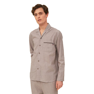 Unisex Organic Cotton Chambray - Pajama Set