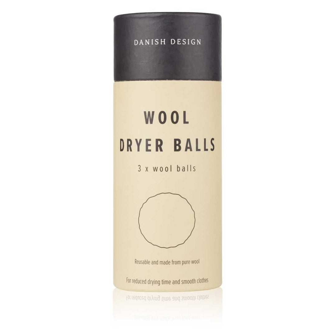Wool dryer balls - 3 pack