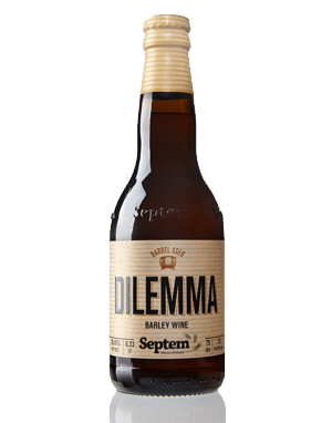 HHS Dilemma Barley Wine Barrel Aged 10.90% vol.