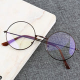 Round Frame Anti-blue Light Glasses