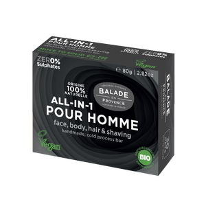 BALADE EN PROVENCE - ALL-IN-ONE SOAP BAR - FOR MEN 80g